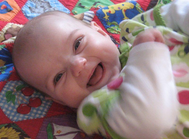 Evie happy blog
