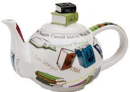 Book teapot