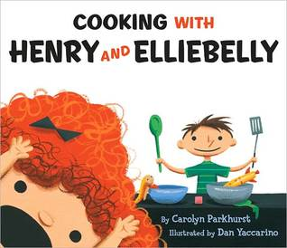 Cooking with henry and ellie