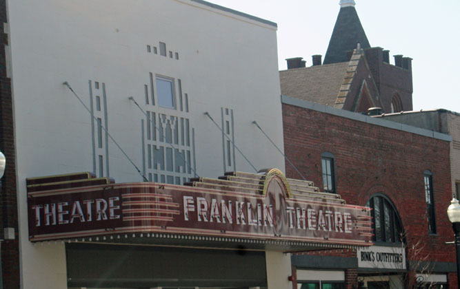 Franklin theater blog