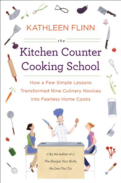 Kitchen counter cooking school
